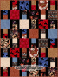 Cowboy Country Western Precut Quilt Kit