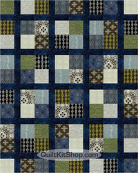 Curious Nature PreCut 20 Large Block Quilt Kit