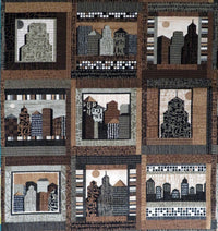 Downtown City Scapes Panel P&B Textiles Fabric