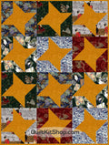 Dragons Lair Star Quilt Kit