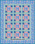Dream Boats Sailing PreCut Quilt Kit