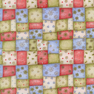 Garden Gifts Patchwork Red