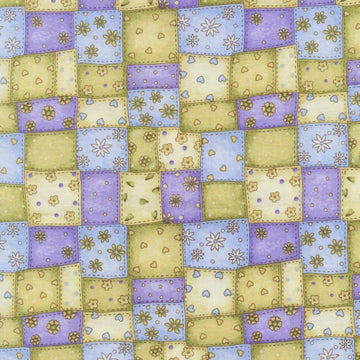 Garden Gifts Patchwork Purple