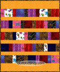 Gold Jungle PreCut Quilt Kit