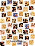 Good Eats PreCut 48 Block Quilt Kit