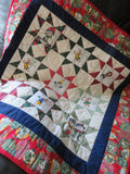 Good Tidings Handmade Patchwork Quilt