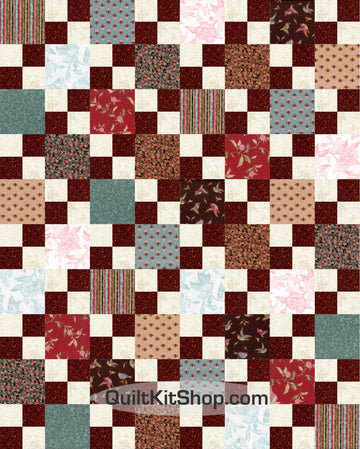Grace PreCut 20 Block Quilt Kit