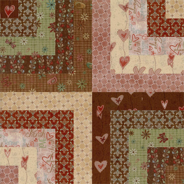 "Heartstrings Layer Cake 10"" Squares"