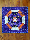 Handmade Quilted Table Topper Halloween