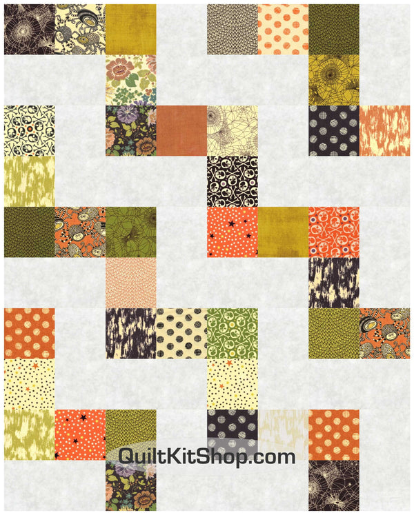 Hallo Harvest Easy PreCut 20 Block Quilt Kit