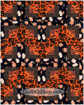 "Halloween Delight 20 PreCut 10"" Block Quilt Kit"