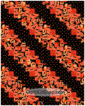 Halloween Lane PreCut 20 Block Quilt Kit