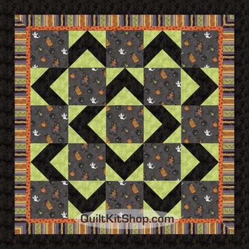 Halloweenie Quilt Kit