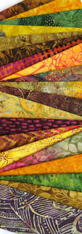 "Harvest Batik 6"" Strips Pack"
