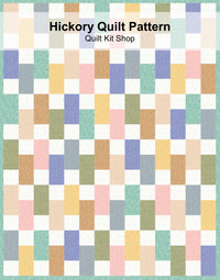 Hickory Quilt Pattern PDF