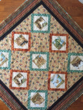 Wildlife Southwest Patchwork Handmade Quilt