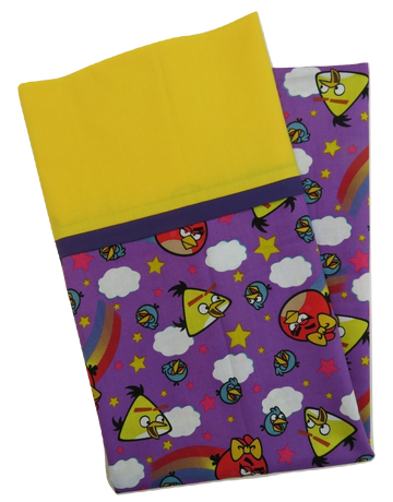 Angry Birds Reversible Handmade Pillowcase