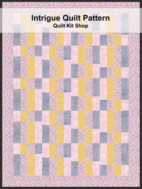 Intrigue Quilt Pattern PDF