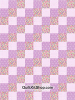 Jelly Beans Candy PreCut 12 Block Quilt Kit