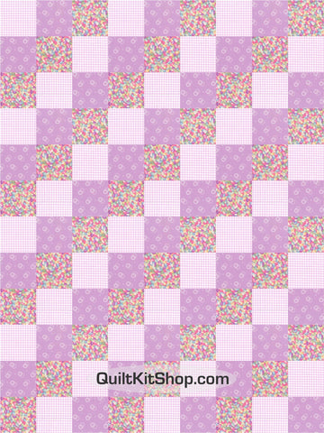 Jelly Beans Candy PreCut GROW Quilt Kit