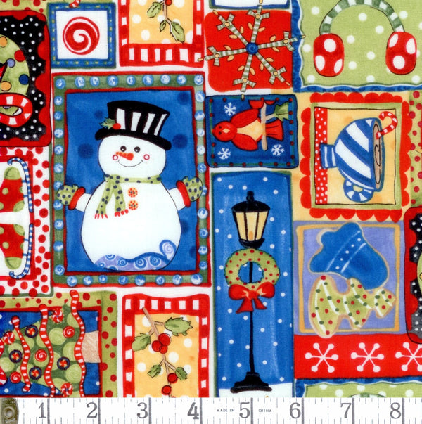 Jolly Holiday Snowman Patch 2015