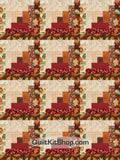 Joyful Harvest PreCut 12 Block Quilt Kit