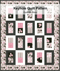 Keyhole Quilt Pattern