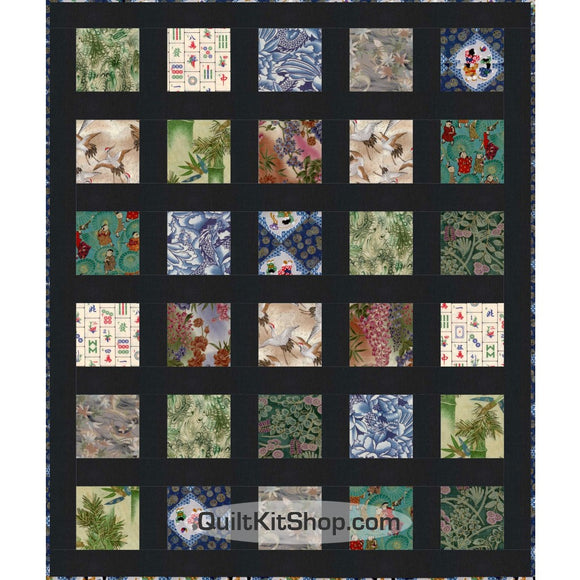 Lotus Easy Peasy 34 x 40 PreCut Quilt Kit