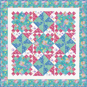 Mermaid Wishes Quilt Kit