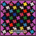 Monster Spin Quilt Kit