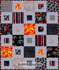 Monster Truck Quilt Kit