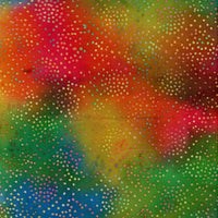 Multi Dots Rainbow Batik