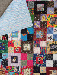 Novelty Kids I Spy Handmade Quilt