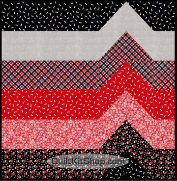 Pampered Scottie Quilt Kit