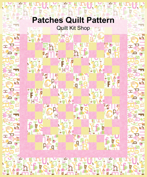 Patches Quilt Pattern PDF