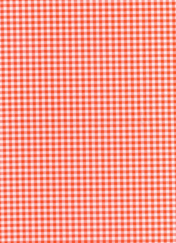 Patchwork Pals Red Check Fabric Red Rooster