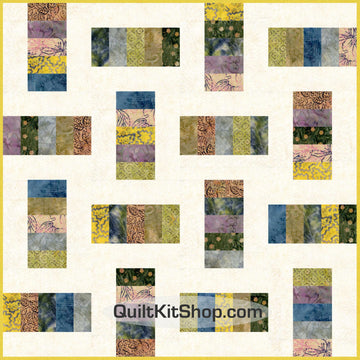 Pioneer Batik Bundle Quilt Kit