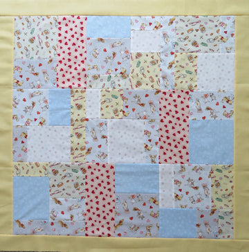 Puppy Love Quilt Top