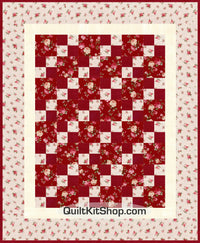 Rose Toss PreCut Quilt Kit