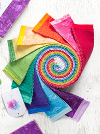 Rainbow Jelly Roll Strips