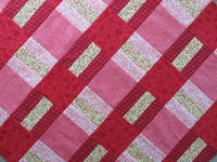 Reflection Red Quilt Top + Binding