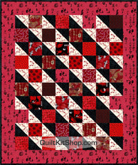 Red Dawn Quilt Kit