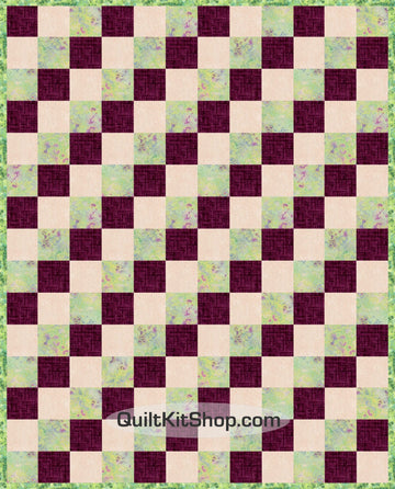 Rhapsody PreCut 20 Block Quilt Kit