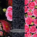 Roses and Lace Easy PreCut 12 Block Quilt Kit