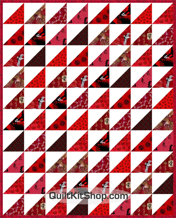 Ruby Red PreCut Quilt Kit