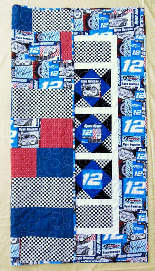 Race Car Ryan Newman Quilt