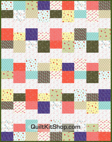 Strawberry Tea Quilt Kit