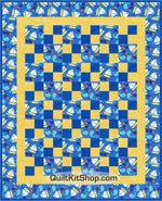 Sail the High Seas 38 x 47 PreCut Quilt Kit