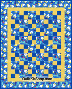 Sail the High Seas PreCut Quilt Kit