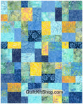 Sea Breeze Batik Queen Quilt Kit